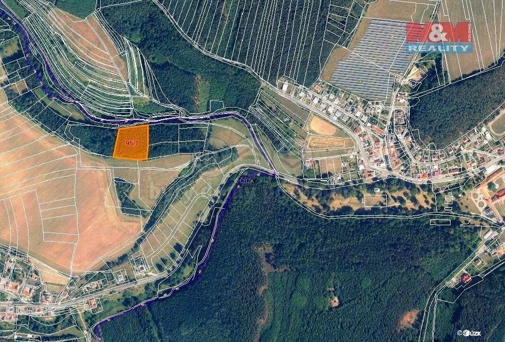 Prodej lesa, 7247 m², Malá Roudka-Skočova Lhota