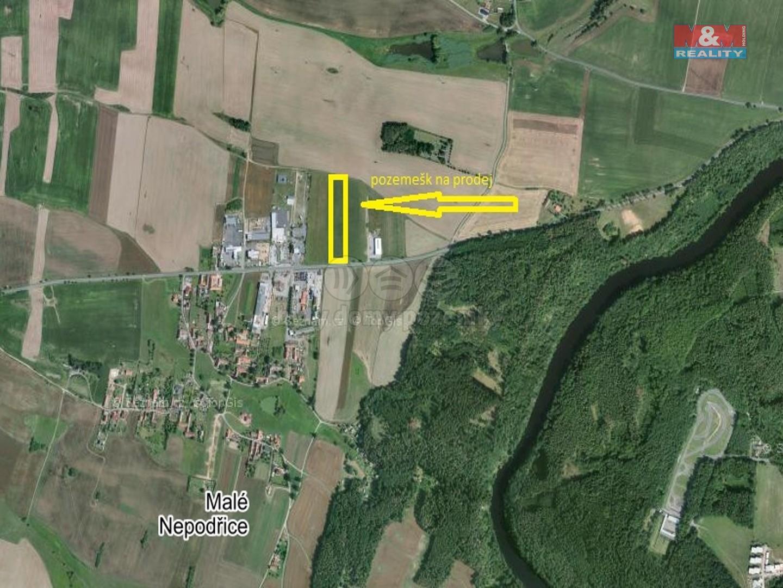 Prodej, pozemek, 15055 m2, Dobev, Malé Nepodřice