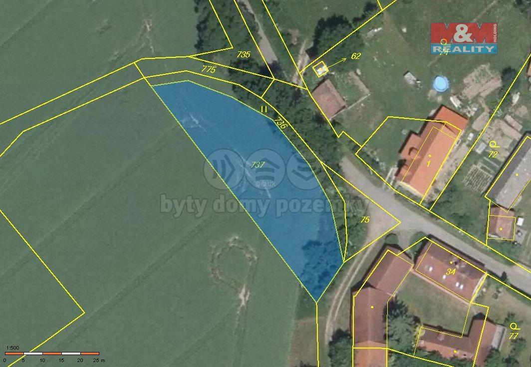Prodej pozemku k bydlení, 1158 m², Loket
