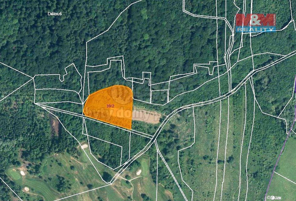 Prodej pole, 10050 m², Ústí nad Labem-Dělouš