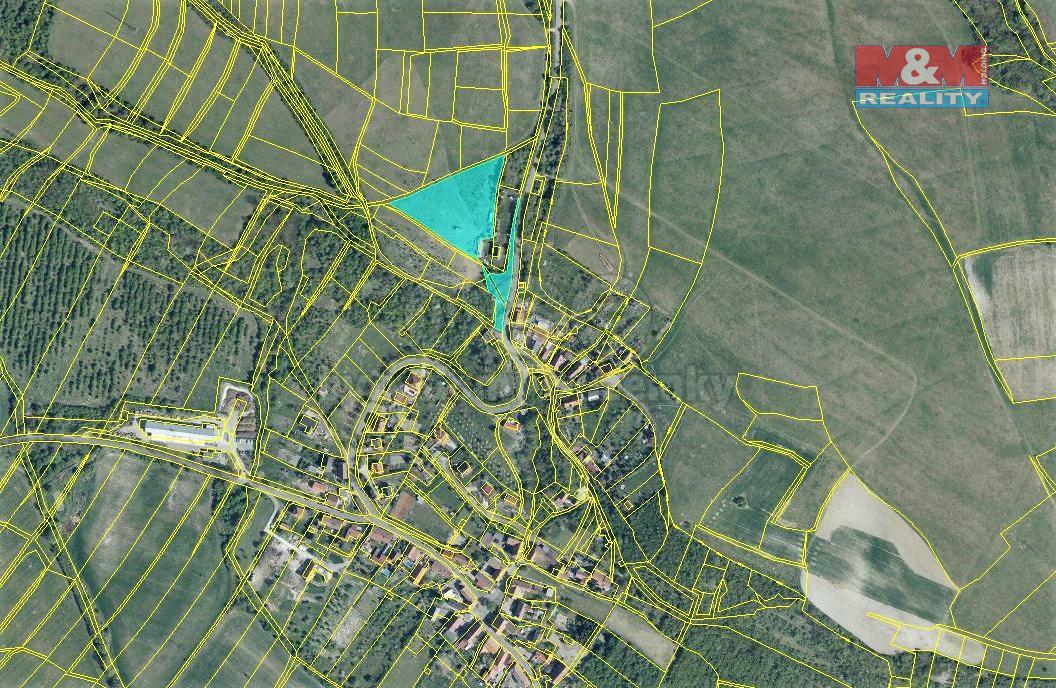 Prodej zahrady, 7325 m², Miřejovice