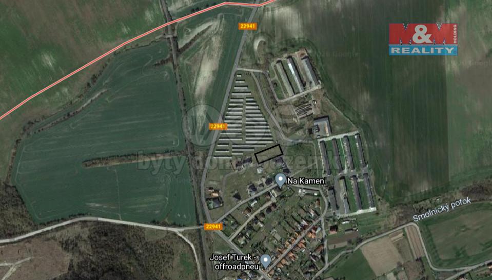 Prodej pozemku k bydlení, 823 m², Blšany u Loun