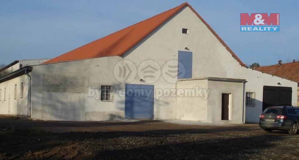 Pronájem skladu, 720 m², Mirošovice, ul. Hlavní