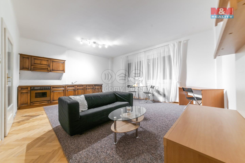 Pronájem bytu 2+kk, 45 m², Praha 7, ul. Osadní