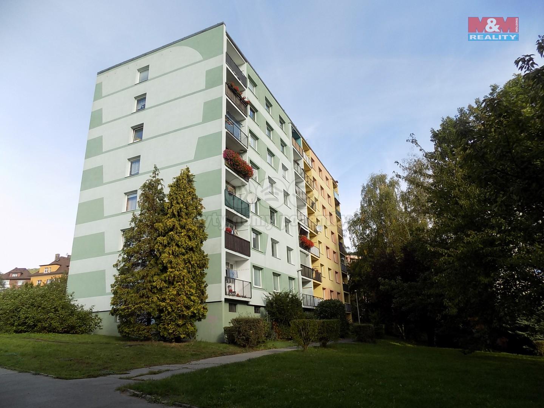 Pronájem bytu 1+1, 36 m², Děčín, ul. Školní