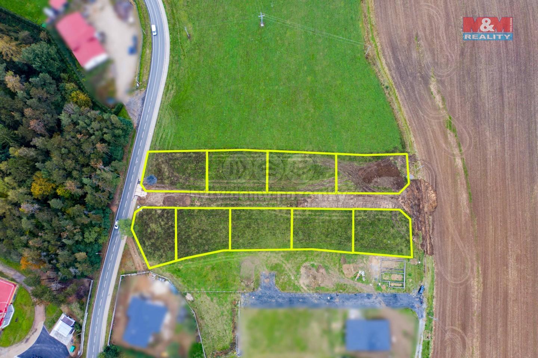 Prodej pozemku k bydlení, 638 m², Břasy