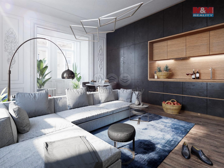 Prodej bytu 1+kk, 29 m², Praha - Vinohrady