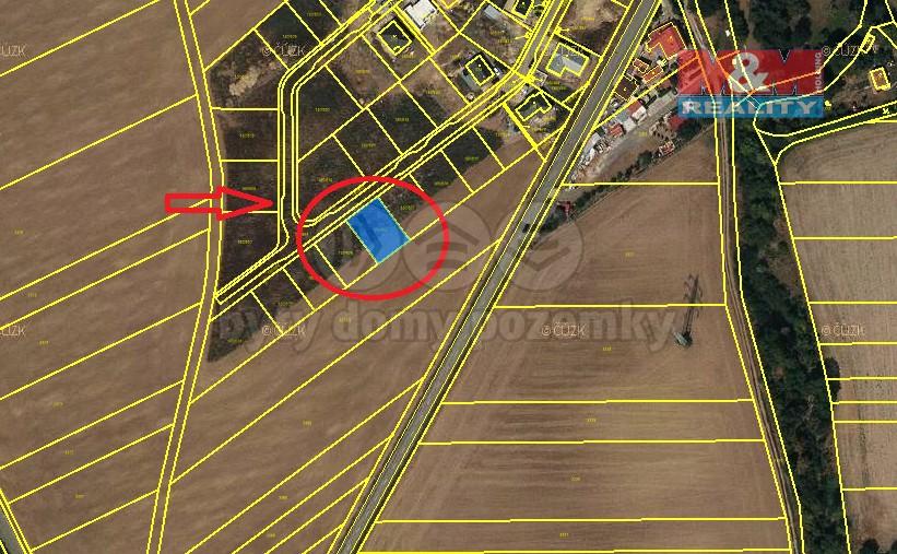 Pronájem, pozemek k bydlení, 503 m², Vyškov