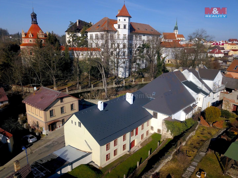 Prodej penzionu, 380 m², Jindřichův Hradec, ul. Mlýnská