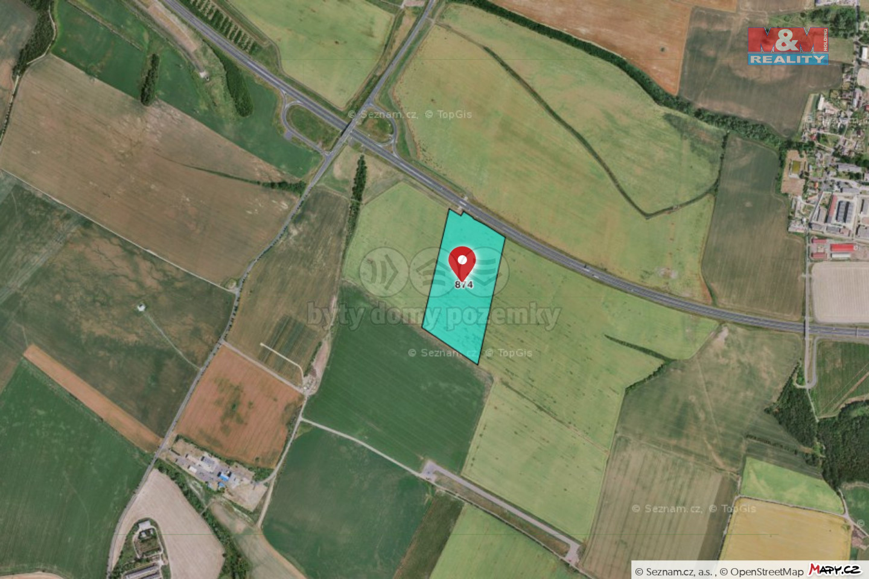 Prodej pole, 85385 m², Droužkovice