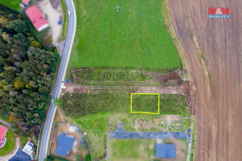 Prodej pozemku k bydlení, 644 m², Břasy