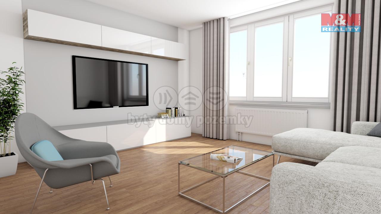 Prodej bytu 2+kk/B, 41 m2, Praha 5 - Košíře