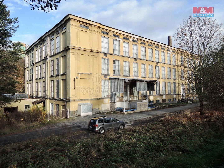 Pronájem skladu, 1400 m², Smržovka, ul. Hlavní