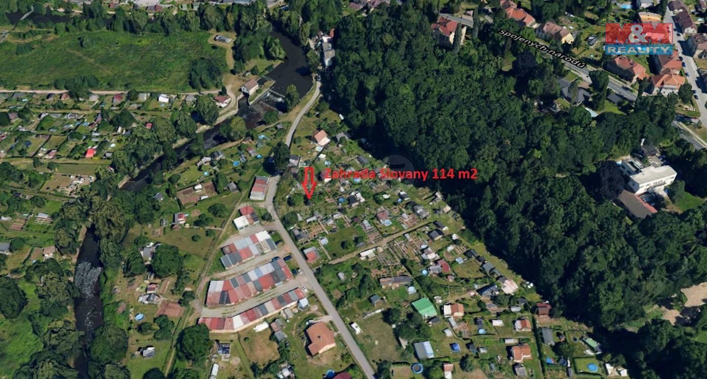 Prodej zahrady, 185 m², Dvůr Králové nad Labem, ul. Slovany