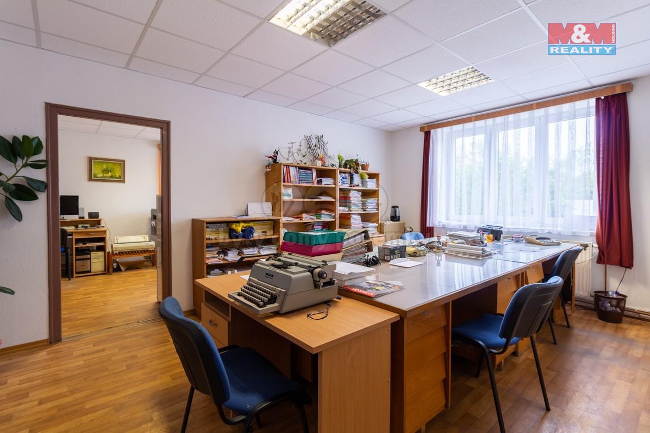 Pronájem kancelářského prostoru, 100 m², Jindřichův Hradec