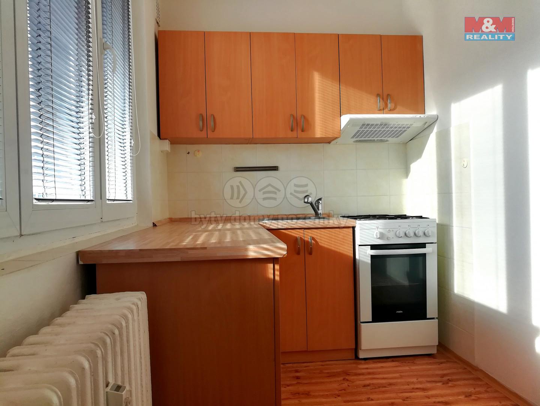 Pronájem bytu 2+1, OV, 52 m2, Klášterec n/O, ul. Komenského