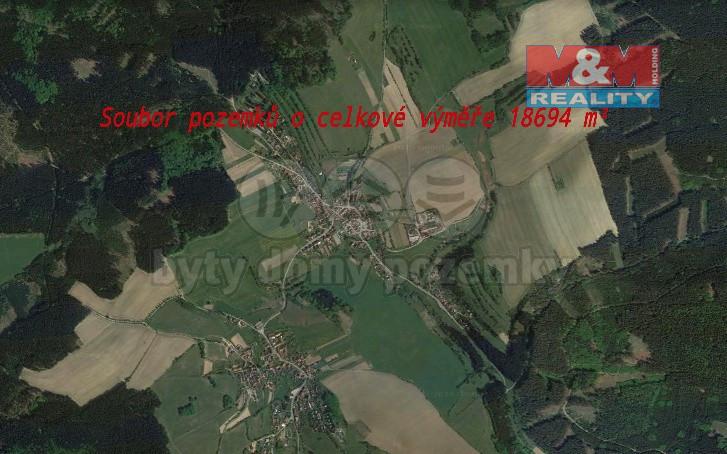 Prodej pozemky, 18694 m², Brumov