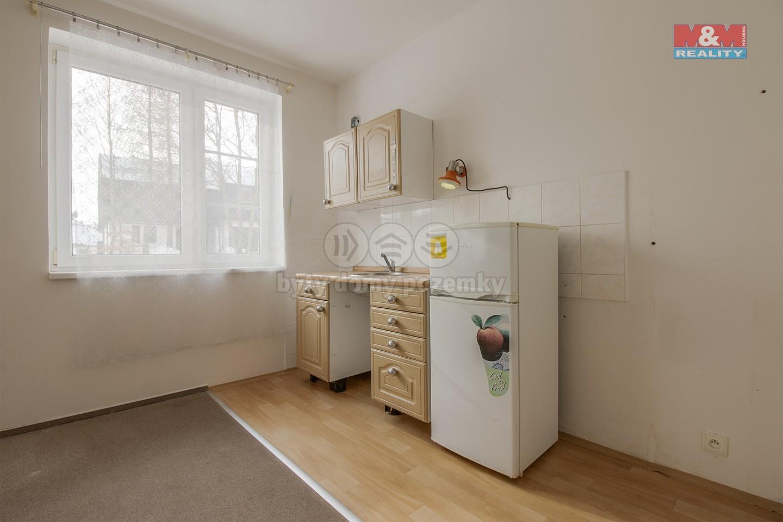 Prodej bytu 1+kk, 33 m², Nový Bor, ul. Rumburských hrdinů