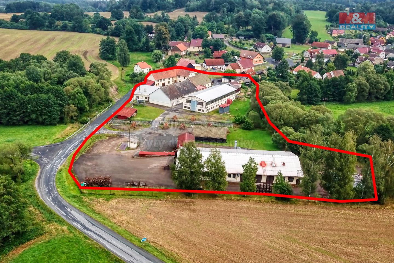 Prodej, výrobní objekt, 13303 m², Mlýnské Struhadlo