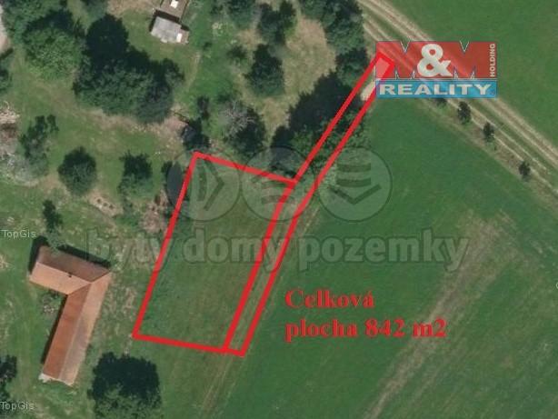 Prodej pozemku k bydlení, 842 m², Tučapy - Brandlín