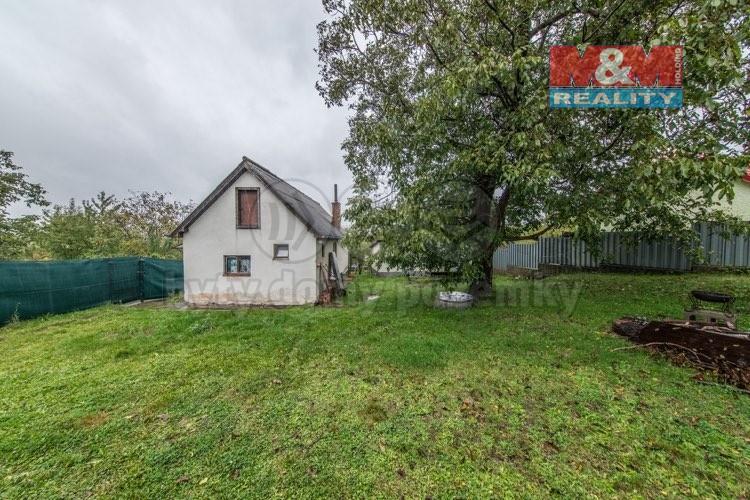 Prodej rodinného domu 40 m2, s garáží a zahradou 463m2
