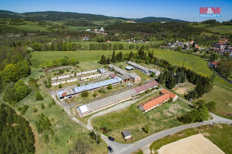 Prodej, výrobní objekt, 21445 m2, Bohumilice