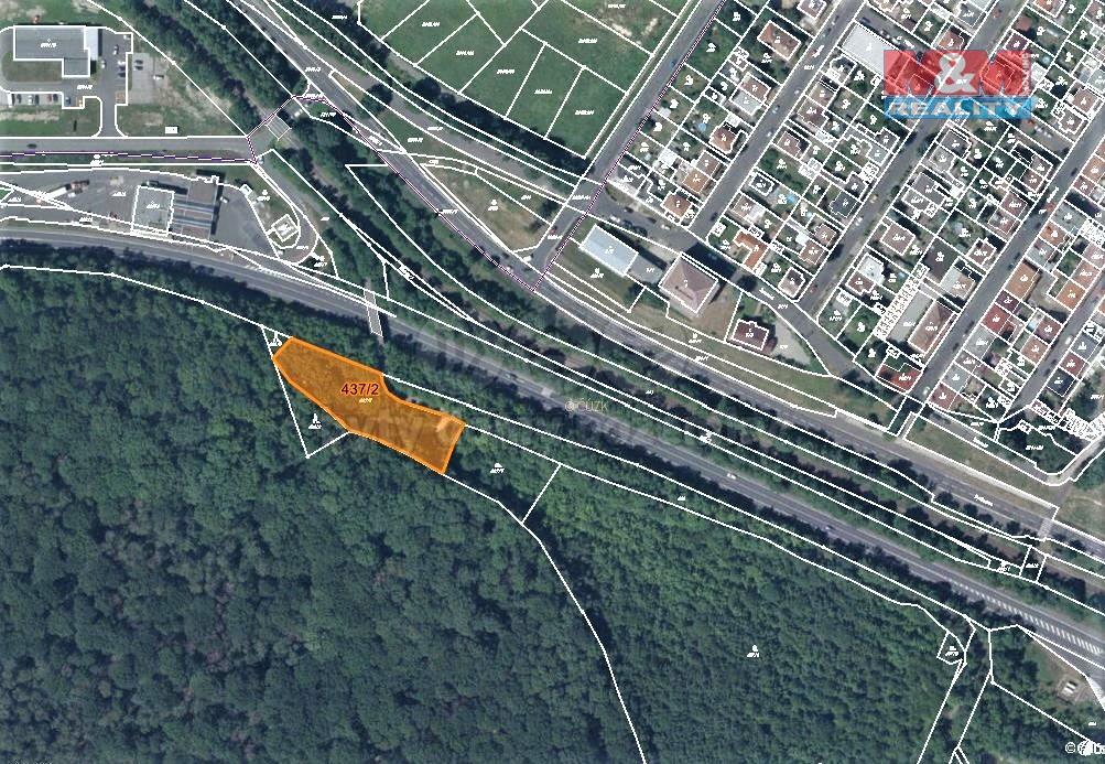 Prodej lesa, 2839 m², Teplice-Prosetice