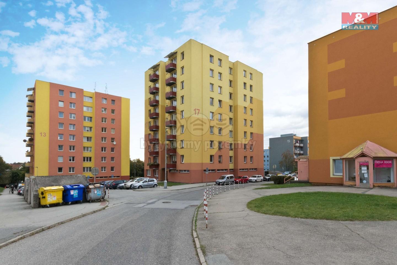 Prodej bytu 4+1, 87 m², Jindřichův Hradec, ul. Kosmonautů