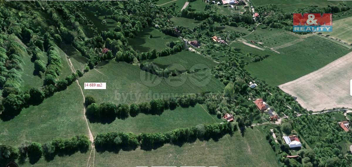 Prodej,trvalý travní porost,14689 m2, Lopeník