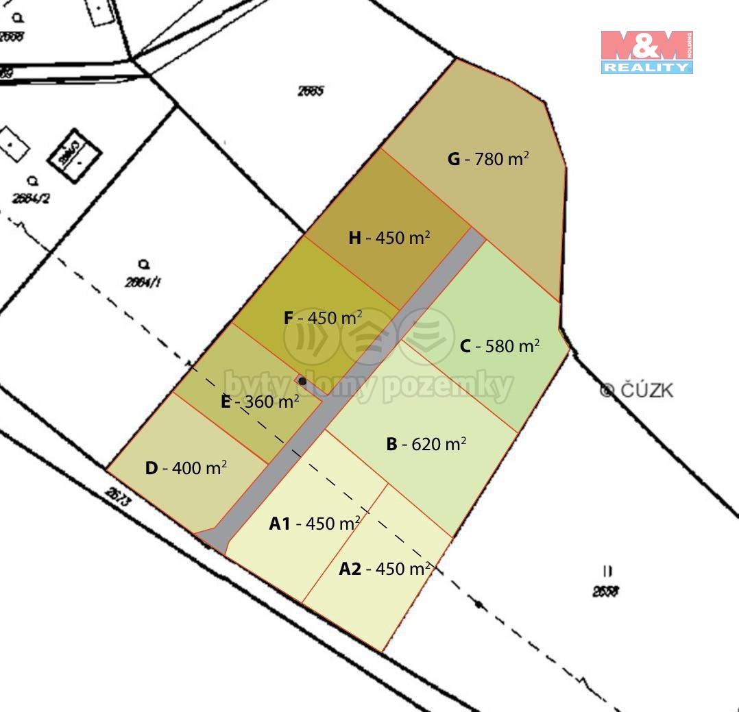 Prodej zahrady, 780 m², Ostrava - Svinov