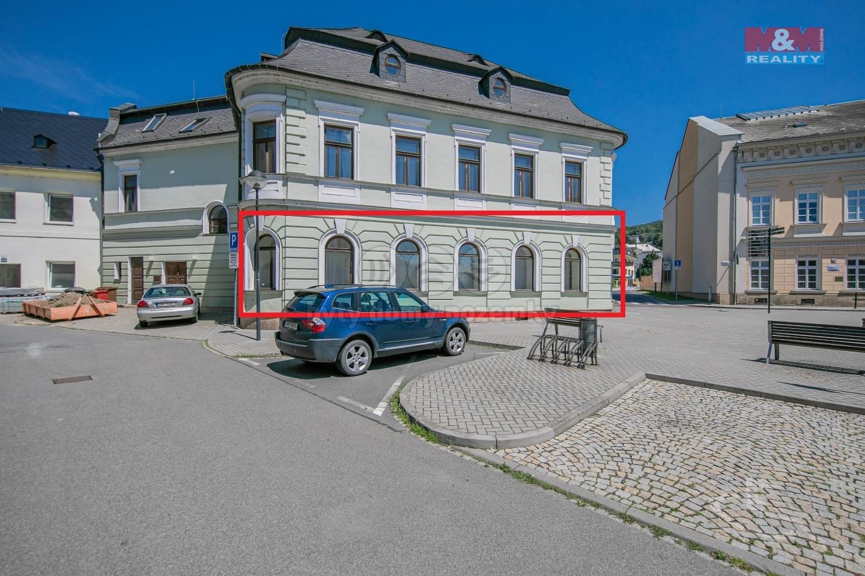 Pronájem obchod a služby, 200 m², Šternberk, ul. nám Svobody