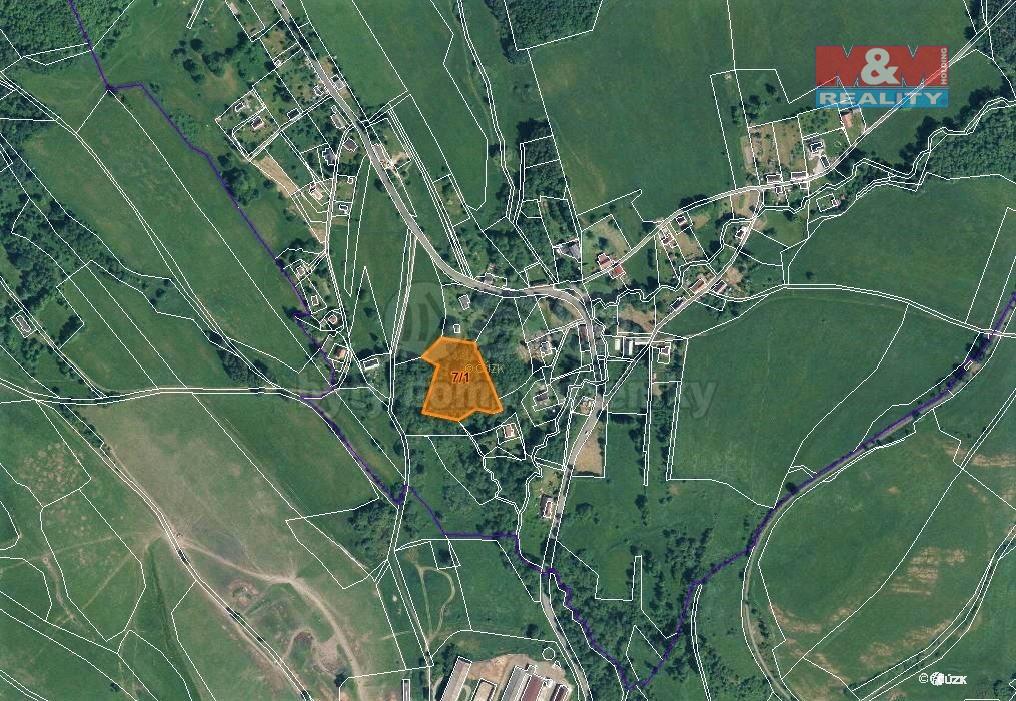 Prodej zahrady, 7463 m², Volfartice