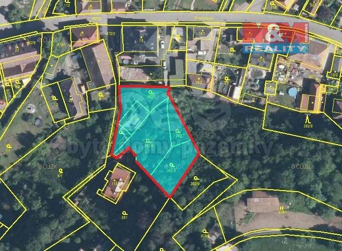 Prodej stavebního pozemku, 1.647 m2, Nižbor