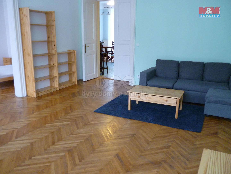 Pronájem bytu 3+1, 130 m2, Vinohradská, Praha 2