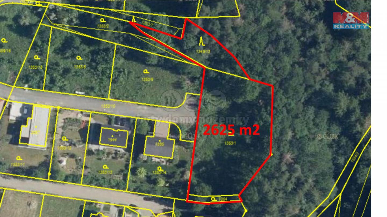 Prodej pozemku k bydlení, 2625 m², Mnichovice