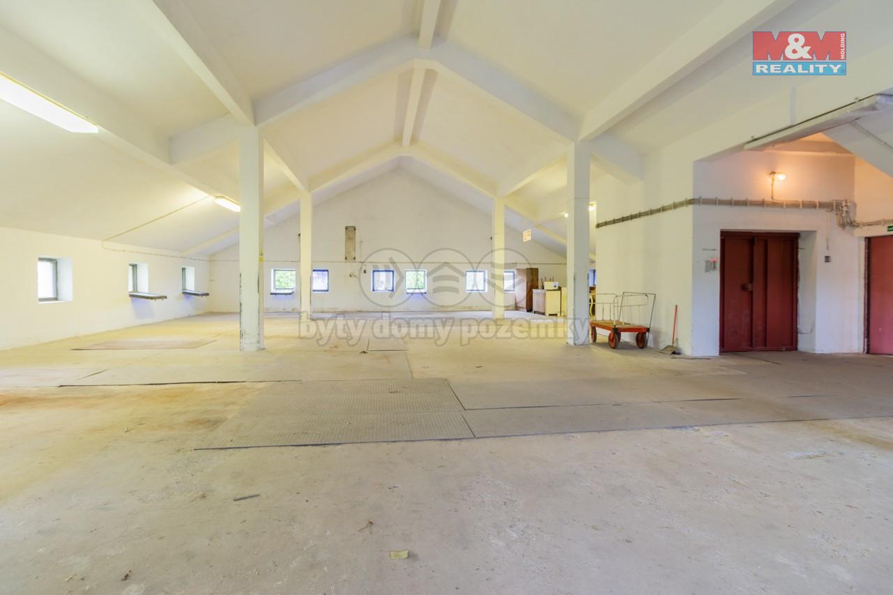 Pronájem skladu, 200 m², Jindřichův Hradec, Dolní Skrýchov