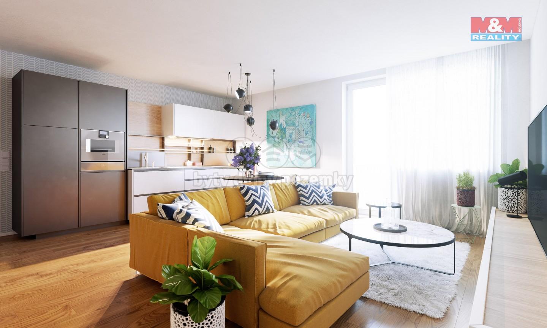 Prodej bytu 3+kk, 90 m², Praha - Kněžívka