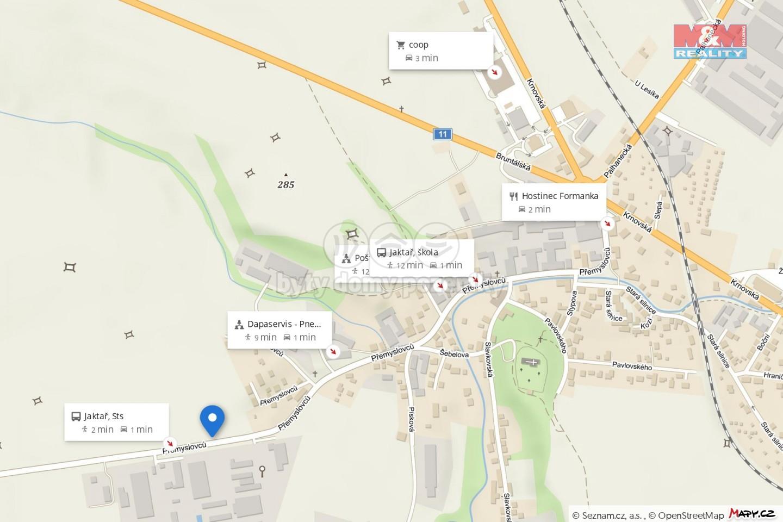 Pronájem zahrady, 2662 m², Opava, ul. Přemyslovců