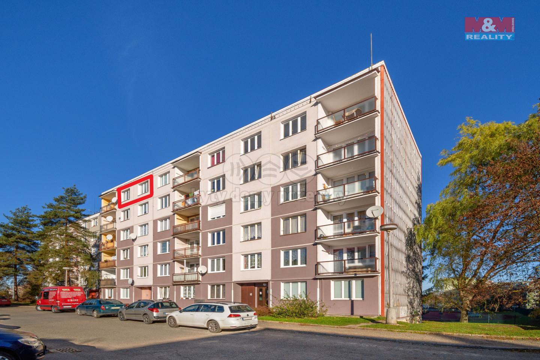 Prodej bytu 1+1, 35 m², Rokycany, ul. Vokáčova