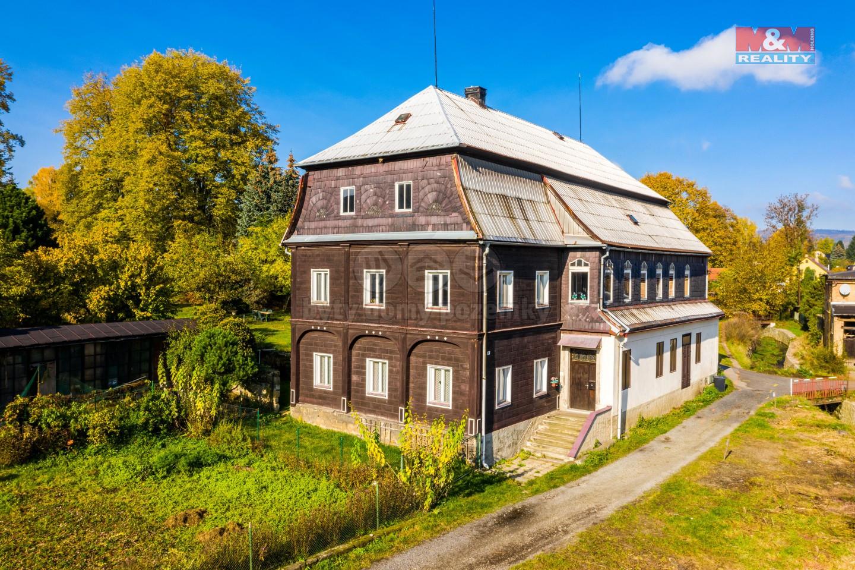 Prodej hrázděného domu, 1703 m², Skalice u České Lípy