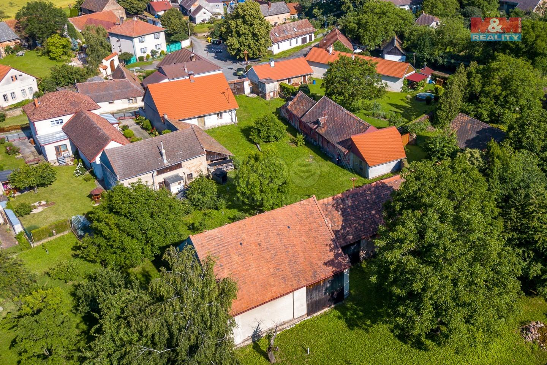 Prodej zemědělské usedlosti, Zbýšov - Zbudovice