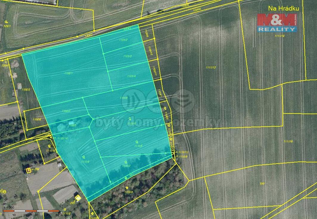 Prodej pozemku k bydlení, 13264 m², Líšťany