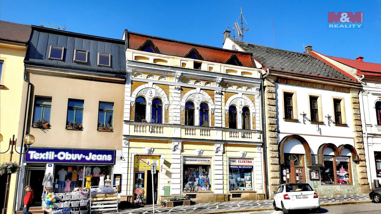 Pronájem obchod a služby, Husovo náměstí, Lomnice n. Pop.