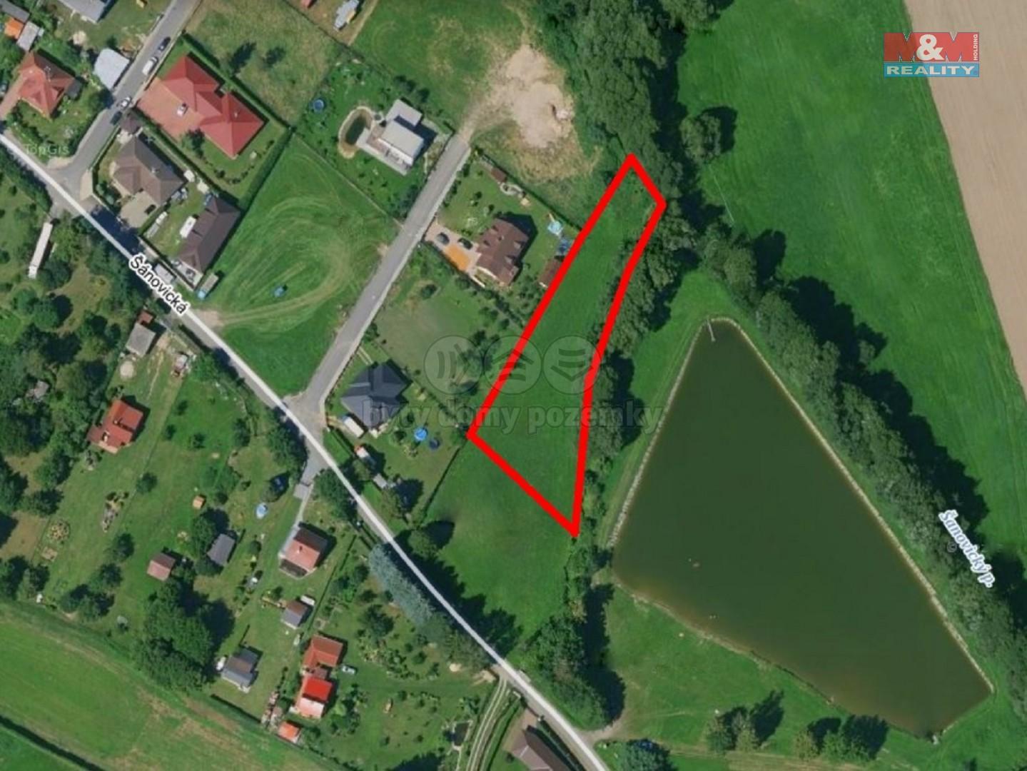 Prodej pozemku k bydlení, 2430 m², Sedlec-Prčice