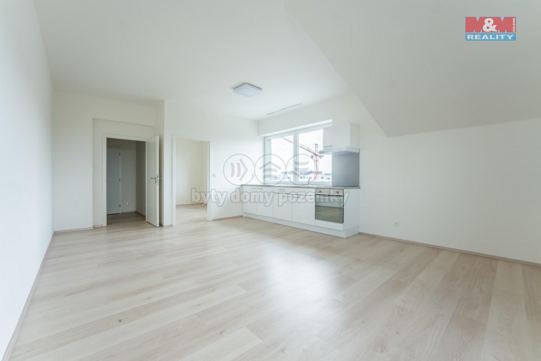 Pronájem, byt 2+kk, 43 m², Horoměřice, ul. Nebušická