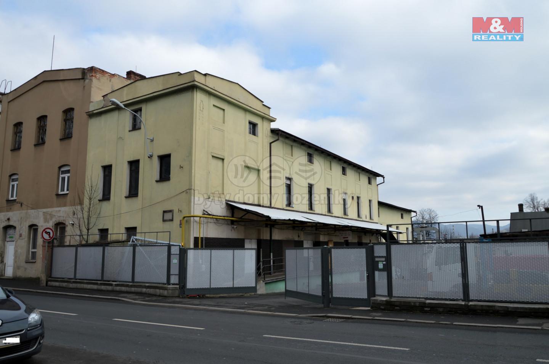Pronájem výrobního objektu, Děčín, ul. Dělnická