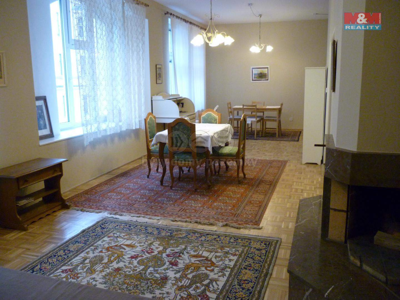 Pronájem bytu 3+kk, 120 m2, Jana Zajíce, Praha 7, Bubeneč