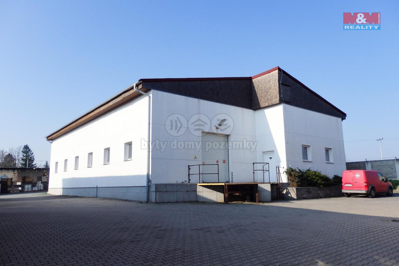 Pronájem skladu, 475 m², Heřmanův Městec