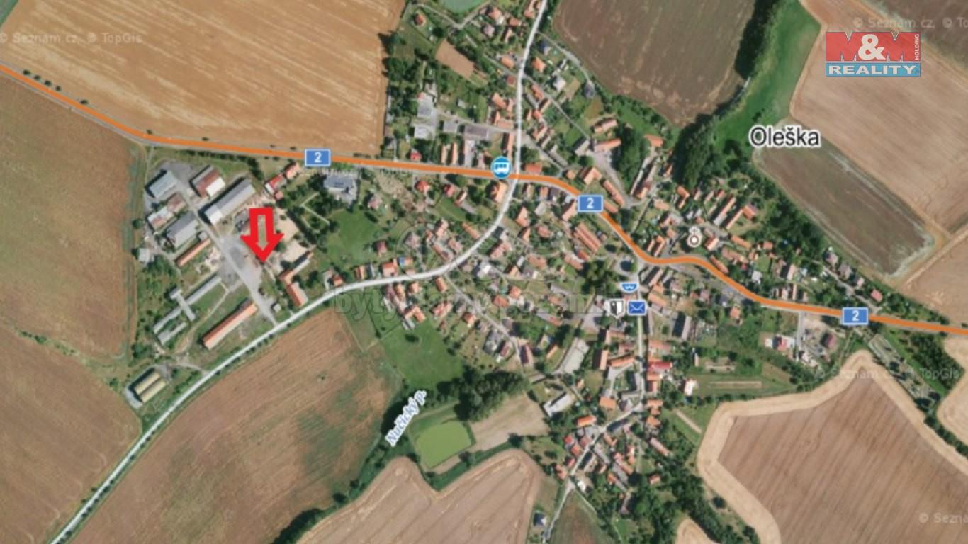 Pronájem provozní plochy, 1750 m², Oleška