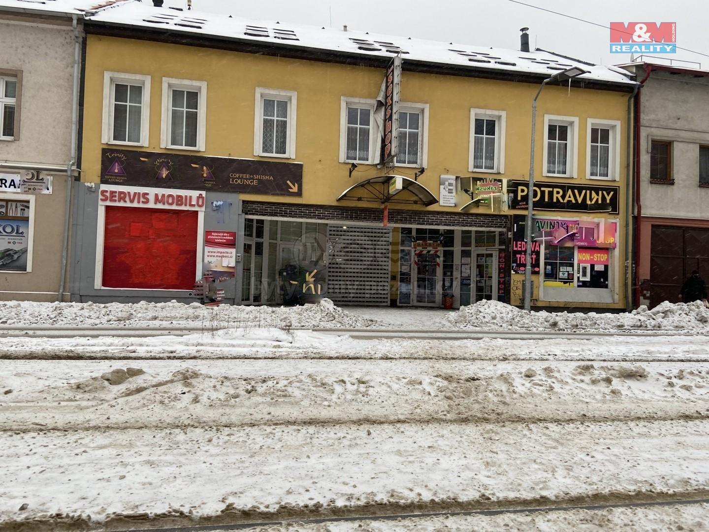 Pronájem obchodního objektu v Ostravě, ul. 1. máje